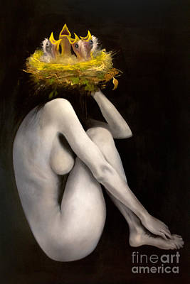 Positive Concept Painting - Inception by Gabriela Junosova