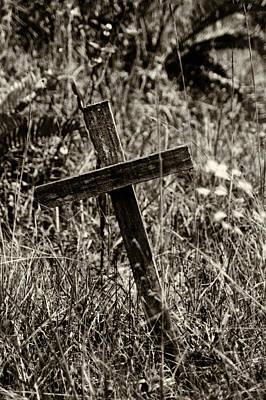 Photograph - Inclined Cross by Amarildo Correa