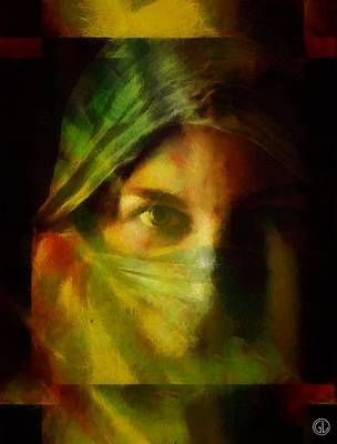 Digital Art - Incognito by Gun Legler