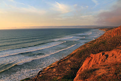 Photograph - Incoming Fog At Torrey Pines by Robin Street-Morris