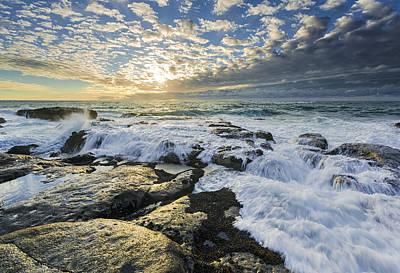 Rocky Coast Photograph - Incoming II by Robert Bynum