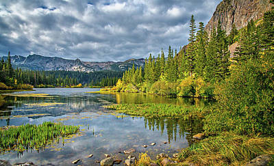 Photograph - Incoming Storm At Twin Lakes by Lynn Bauer