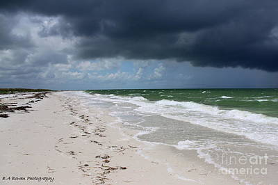 Photograph - Incoming Storm by Barbara Bowen