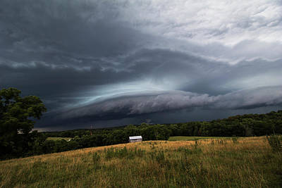 Storm Photograph - Incoming Storm by Tyler Schlitt