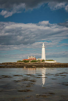 Photograph - Incoming Tide At St Mary's by Gary Eason