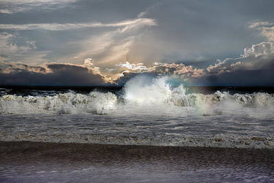 Photograph - Incoming Tide by John Haldane