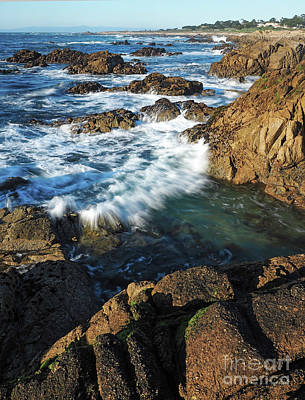Photograph - Incoming Wave, California Coast  #20099 by John Bald