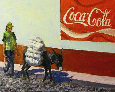 Painting - Incongruity by Jack Riddle