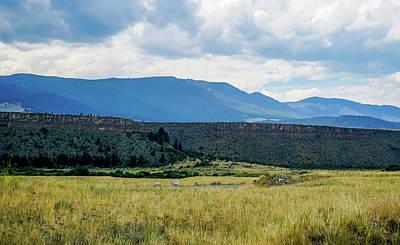 Summer Photograph - Incredible Mountain Range by Ric Schafer