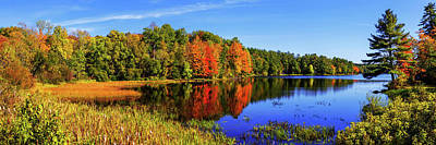 New England Fall Photograph - Incredible Pano by Chad Dutson