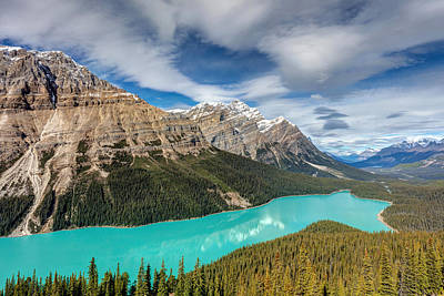 Photograph - Incredible Peyto Lake by Pierre Leclerc Photography