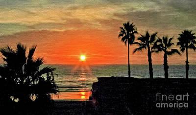 Photograph - Incredible Sunset by Gabriele Pomykaj