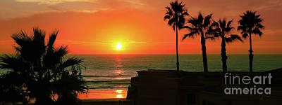 Incredible Sunset View Art Print
