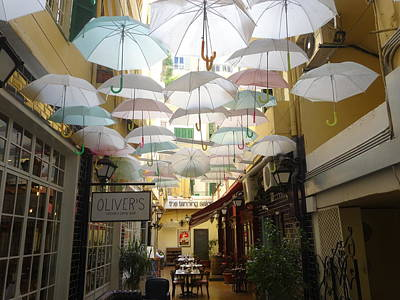 Photograph - Incredible Umbrella Street In Beirut  by Funkpix Photo Hunter
