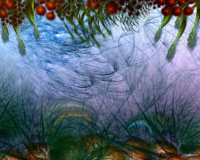 Incursion Into The Inversion Art Print by Casey Kotas