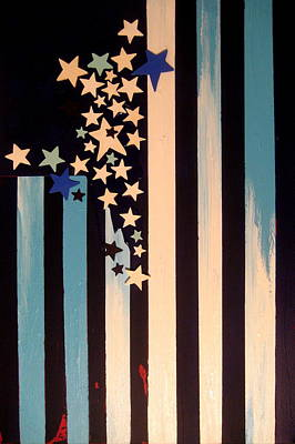 Independence Day 2015 - True Blue American Original by Charles Jos Biviano