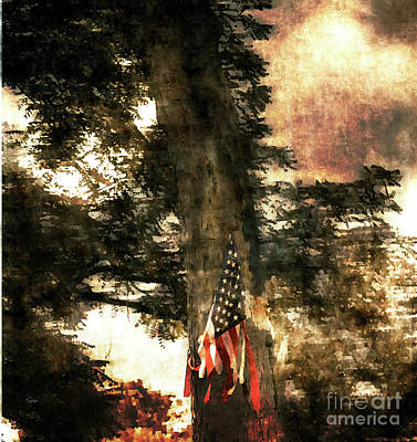 Independence Day Appalachia  Art Print by Steven Digman