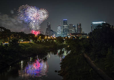 Photograph - Independence Day Houston Tx by Chris Multop