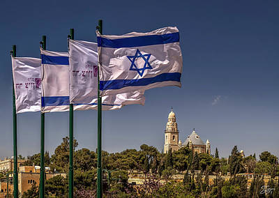 Photograph - Independence Day In Israel by Endre Balogh
