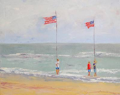 Painting - Independence Day  by Ward