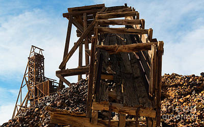 Traditional Bells - Independence Gold Mine Ruins by Steven Krull