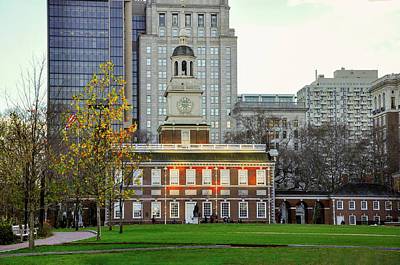 Photograph - Independence Hall In Philadelphia Pennsylvania by Bill Cannon