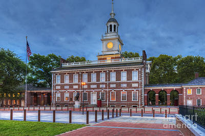Photograph - Independence Hall National Historical Park 3 by David Zanzinger