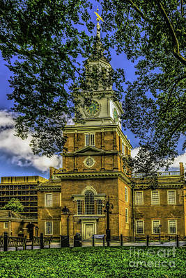 Photograph - Independence Hall-philadelphia by Nick Zelinsky