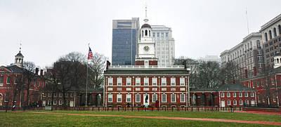 Independence Hall Philadelphia Pennsylvania Print by Bill Cannon