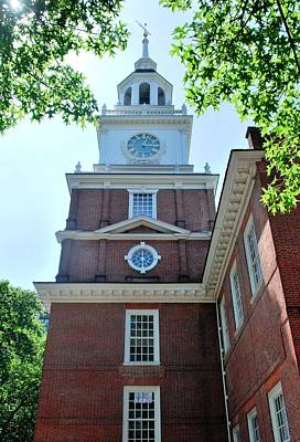 Photograph - Independence Hall Philadelphia Portrait View by Matt Harang