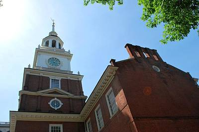 Photograph - Independence Hall Philadelphia Side Angle View by Matt Harang