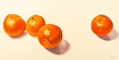 Tangerine Painting - Independence by Lissa Banks