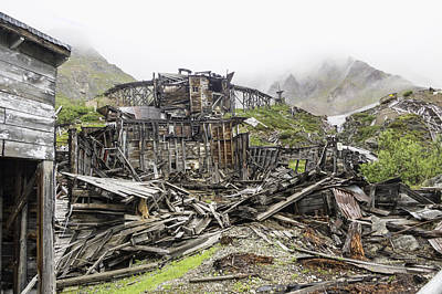 Independence Mine Photograph - Ruins Of Independence Mine No 2 by Phyllis Taylor