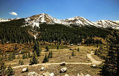 Photograph - Independence Pass 1 by Judy Vincent