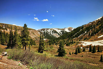 Photograph - Independence Pass 3 by Judy Vincent