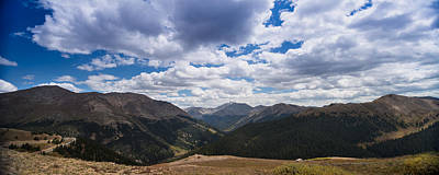 Independence Pass Colorado Art Print by Steve Gadomski