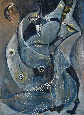 Painting - India 6 by Maya Manolova