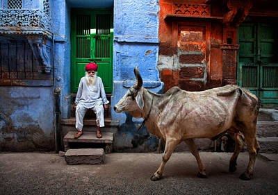 India Photograph - India by Fadhel Almutaghawi