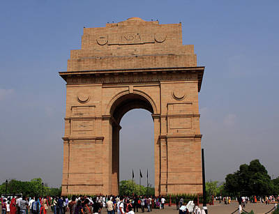 Photograph - India Gate - New Delhi - India by Aidan Moran