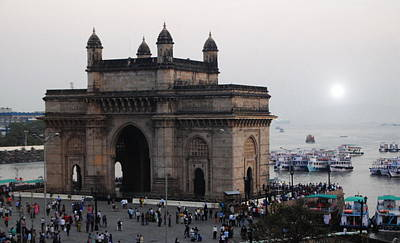 Photograph - India - Gateway Of India by Jacqueline M Lewis