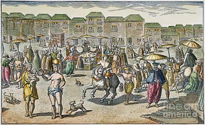 Goa Photograph - India: Goa, 1599 by Granger