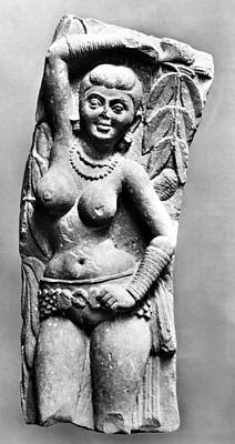 Nude Relief Photograph - India: Jain Sculpture by Granger