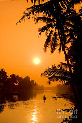 Photograph - India Kerala  by Juergen Held