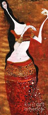Painting - India  by Maya Manolova