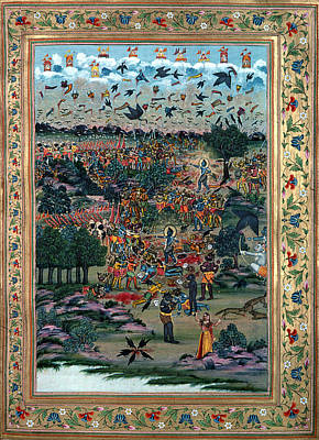 Ravana Photograph - India: Ramayana, 1813 by Granger