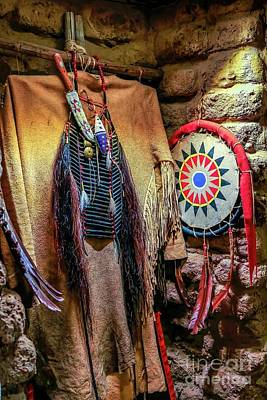 Photograph - Indian Accoutrements by Jon Burch Photography