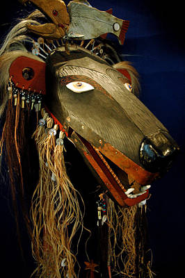 Smithsonian Museum Photograph - Indian Animal Mask by LeeAnn McLaneGoetz McLaneGoetzStudioLLCcom