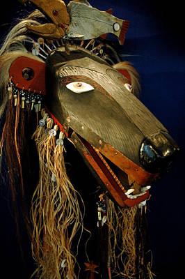 Smithsonian Museum Photograph - Indian Animal Mask by LeeAnn McLaneGoetz McLaneGoetzStudioLLCcom