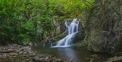 Photograph - Indian Brook Waterfall Panorama by Angelo Marcialis