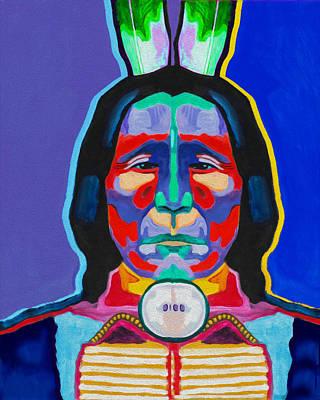 Indian By Nixo Art Print
